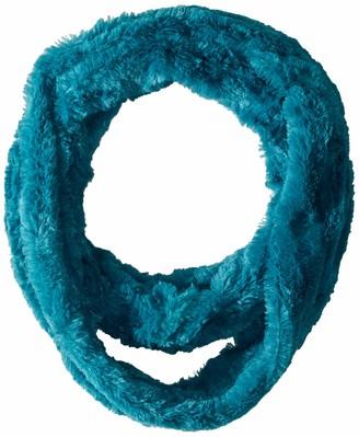 Posh Plush Women's Faux Fur Infinity Scarf
