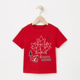 Roots Toddler Glow Maple Constellation T-shirt