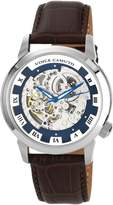 Vince Camuto Men's VC/1007BLSV The Executive Silver-Tone Self-Wind Automatic Watch
