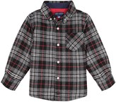 Andy & Evan Boys' Quilted Long-Sleeve Button Fr ont Shirt