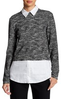 Alice + Olivia Maelynn Layered Sweater