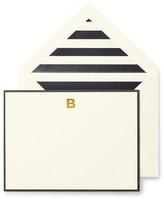 Kate Spade Monogram B Correspondence Cards - Set of 10