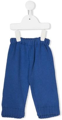 Eshvi Kids x 0711 Tbilisi Royal Blue trousers