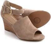 Adrienne Vittadini Ranta Wedge Sandals - Suede (For Women)