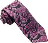 Asstd National Brand Susan G. Komen Woven Paisley Tie