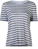 Alexander Wang striped T-shirt - women - Linen/Flax/Rayon - XS