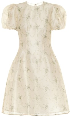 Brock Collection Quanecia floral silk dress