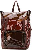 Raf Simons foldover top backpack