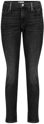 Frame Le Garcon cropped mid-rise skinny jeans