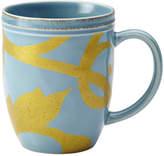 Rachael Ray Gold Scroll Beverage Mug