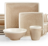 Sango Vega Taupe 16-Pc. Set, Service for 4