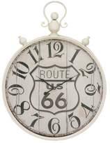 Cole & Grey Metal Wall Clock