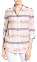 Tommy Bahama Women's Costas Stripe Cotton & Silk Shirt