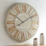 Pier 1 Imports Cremone Wall Clock