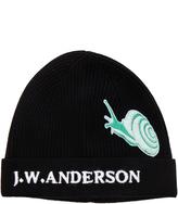J.W.Anderson Snap Detail Beanie