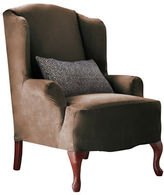 Sure Fit Harlow Wingtip Chair Slipcover