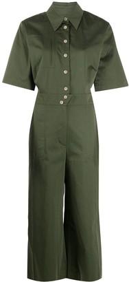 BA&SH Brigitte cropped jumpsuit