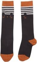 Emile et Ida Knee-Length Cat Socks