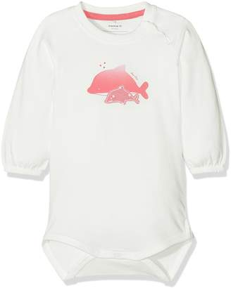 Name It Baby Girls' NITFATMA LS Body MZNB Bodysuit