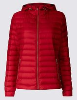 Per Una Down & Feather Jacket with StormwearTM