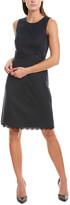 Brooks Brothers Wool-Blend Sheath Dress