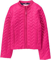 Gymboree Fuchsia Quilted Puffer Jacket - Toddler & Girls