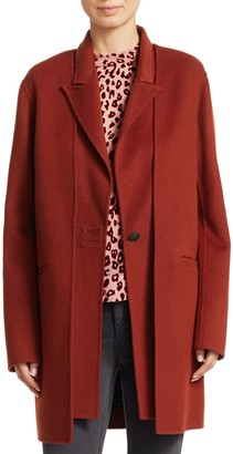 Rag & Bone Kaye Long Wool-Blend Coat