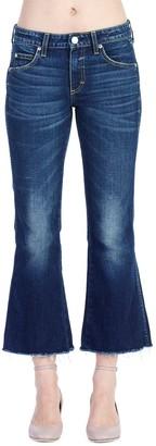 Amo Cropped Kick Flare Jeans