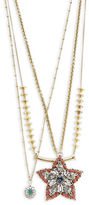 Gerard Yosca Star Pendant Layer Necklace