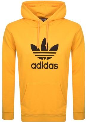 adidas Logo Hoodie Yellow