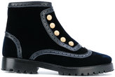 Rue St ankle length studded boots