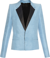 Haider Ackermann Eku Muru linen and silk-blend jacket