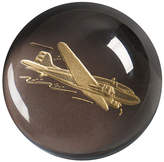 Engraved Airplane Paperweight