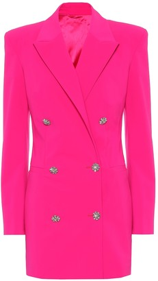 ATTICO Stretch-wool blazer dress