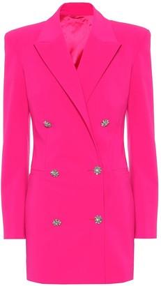 ATTICO The Stretch-wool blazer dress