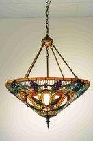 Tiffany & Co. Meyda 65652 24 Inch W Jeweled Grape Inverted Pendant