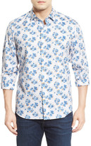 Tommy Bahama Matisse Madness Island Modern Fit Floral Print Sport Shirt