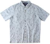 O'Neill Jack Men's Sano Graphic-Print Linen Short-Sleeve Shirt