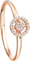 Astley Clarke Mini Icon Aura 14ct rose-gold and diamond ring