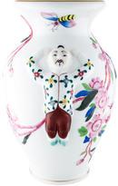 Herend Hand-Painted Porcelain Vase