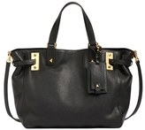 Valentino 'My Rockstud' Calfskin Leather Tote - Black
