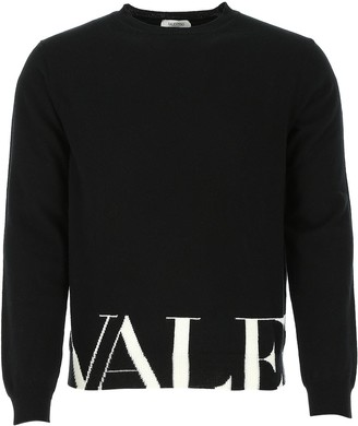 Valentino VLTN Logo Knit Sweater