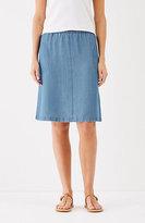 J. Jill Tencel® Indigo Skirt