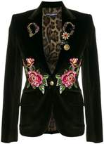 Dolce & Gabbana embroidered blazer