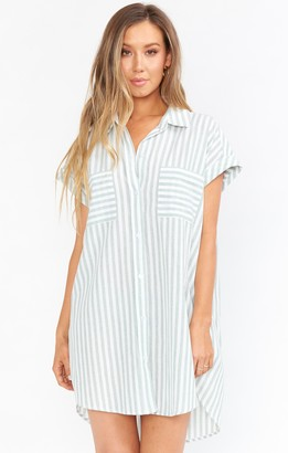 Show Me Your Mumu Martin Shirt Dress