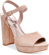 Madden-Girl Sharpe Block-Heel Platform Sandals