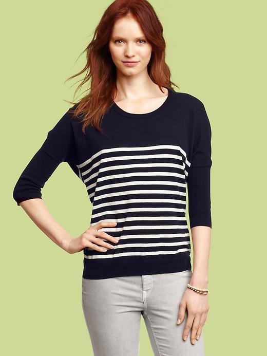 Gap Striped circle sweater