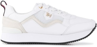 Tommy Hilfiger Mesh Panel Low Top Sneakers
