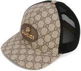 Gucci GG Supreme baseball hat - men - Cotton/Polyamide/Polyester/Polyurethane - M