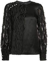 Yigal Azrouel textured top